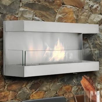Foyer Paradise Dim:47.25 po long x 19.75 haut po x10.25 po profond en stainless avec brûleur de 3.2 L.Prix:$1990