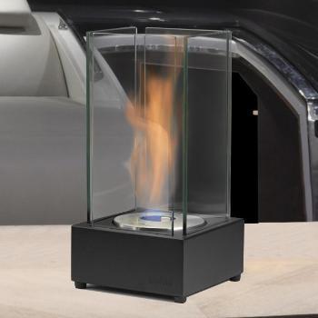 Foyer Cartier Noir   Dim:7.1 po large x 7.1 po profond x 13.78 po haut,disponible en noir lustré ou mat brule 2 h 1/2.Prix: $150