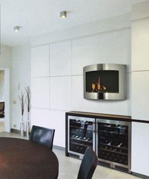 Foyer Laguna   Dim:36.50 long x 23.25 haut x 9 po profond avec brûleur de 1.1L.Prix:$899