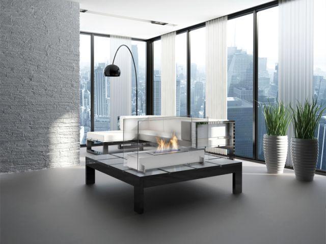 Foyer Vision 1    Dim:28.75 po long x 10.25 po profond x 16.75 po haut disponible en noir ou stainless avec bruleur de 1.42 L .Prix:$795