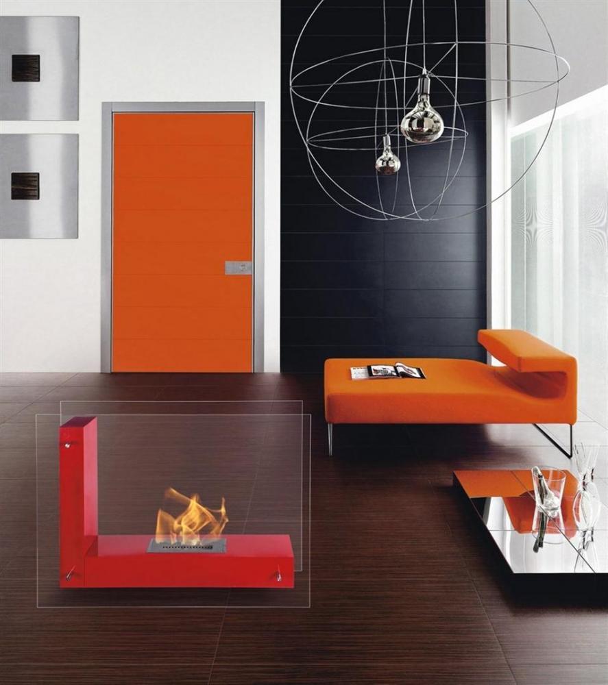 Foyer Kali   Dim:34 po long x 24 po haut x 12.4 po profond,disponible en noir,blanc ou rouge avec brûleur de 1.5 L.Prix:$799