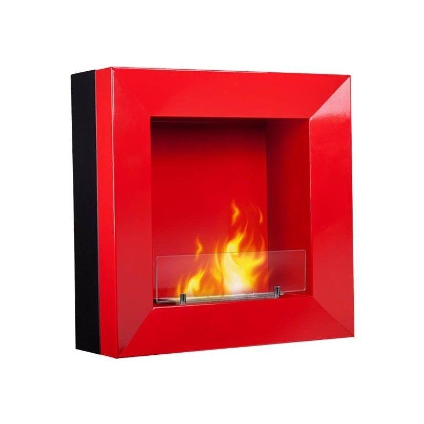 Foyer Prestige    Dim:23.50 po large x 23.50 po haut x 9 po profond se fait seulement en rouge,peut être encastrer ou non.Prix: $399