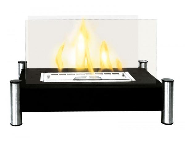 Foyer Taal    Dim:21 po long x 15 po haut x 13 po profond  couleur noir et stainless.Prix: $550