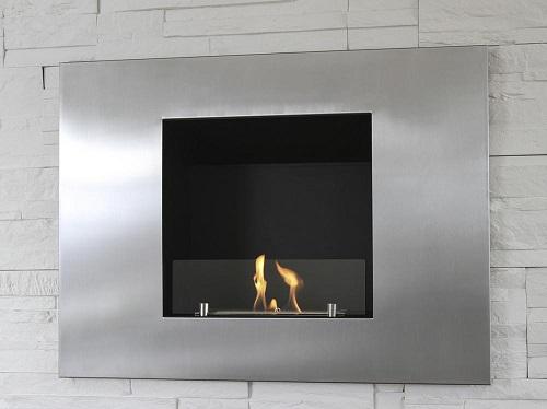 Foyer Nante (encastrer)     Dim:31.5 po large x 23.5 po haut x 7.5 po profond en stainless avec brûleur de 1.2 L.Prix:$799