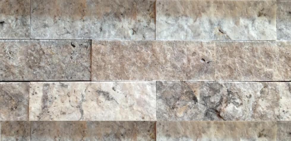 Travertin Empire Silver  Le Travertin est une pierre unique en prevenance de Turquie. Style Empire Couleur Ivoire 5 pieds carrés par boite. Prix et salle de montre en magasin